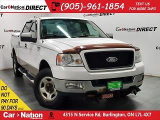 Used 2005 Ford F-150 XLT| 4X4| AS-TRADED| TONNEAU COVER| for sale in Burlington, ON