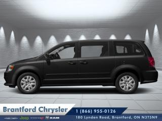 Used 2019 Dodge Grand Caravan SXT Premium Plus  - $225 B/W for sale in Brantford, ON