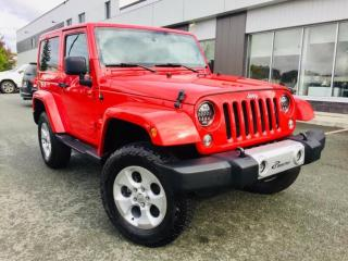 Used 2014 Jeep Wrangler SAHARA 2 TOITS GPS for sale in Ste-Marie, QC