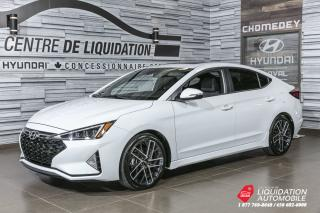 Used 2019 Hyundai Elantra Sport  TAUX BRILLANT 3.85% for sale in Laval, QC