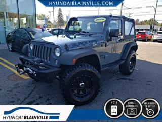 Used 2015 Jeep Wrangler SPORT 4X4, MAN for sale in Blainville, QC