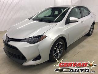 Used 2018 Toyota Corolla LE MAGS TOIT CAMÉRA DE RECUL SIÈGES CHAUFFANTS for sale in Trois-Rivières, QC