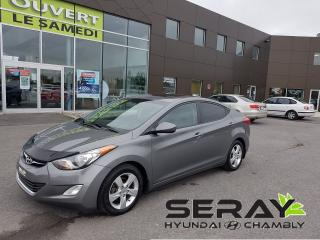 Used 2013 Hyundai Elantra GLS, mags, a/c, toit ouvrant, bluetooth for sale in Chambly, QC