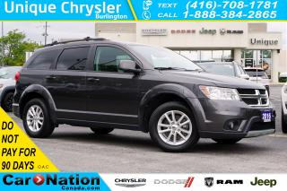 Used 2016 Dodge Journey SXT| 7-SEATER| DVD| NAV| REAR CAM| HEATED SEATS for sale in Burlington, ON