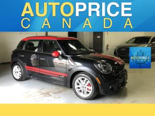 Used 2014 MINI Cooper Countryman John Cooper Works JCW|PANOROOF|LEATHER for sale in Mississauga, ON