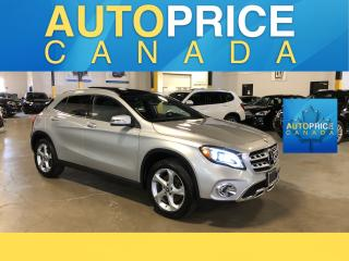 Used 2018 Mercedes-Benz GLA 250 NAVIGATION|PANOROOF|LEATHER for sale in Mississauga, ON