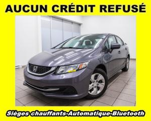 Used 2014 Honda Civic LX  BLUETOOTH *SIEGES CHAUFFANTS* *PROMO for sale in St-Jérôme, QC