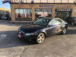 Used 2011 Audi A4 2011 Audi A4 - 4dr Sdn Auto quattro 2.0T Premium for sale in North York, ON