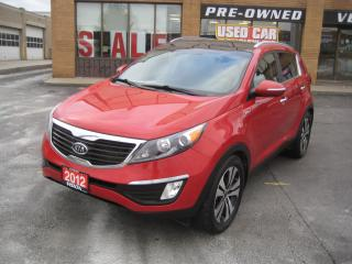 Used 2012 Kia Sportage ONE OWNER SERVICE RECORDS NAVIGATION LEATHER AWD for sale in North York, ON