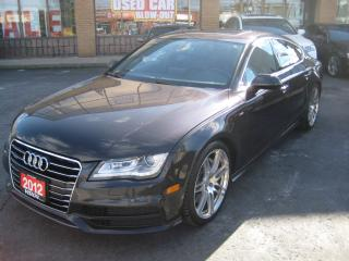 Used 2012 Audi A7 2012 Audi A7 - 4dr HB quattro 3.0 Premium S- LINE for sale in North York, ON