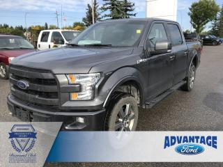 Used 2015 Ford F-150 Lariat Clean Carfax - Leather for sale in Calgary, AB