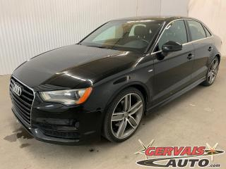 Used 2015 Audi A3 1.8T Progressiv S Line Cuir Toit Ouvrant MAGS for sale in Shawinigan, QC