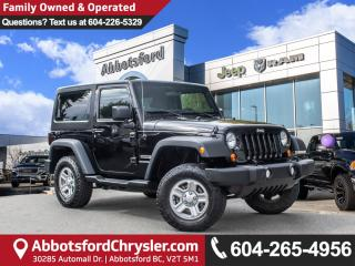 Used 2013 Jeep Wrangler Sport *WELL MAINTAINED* for sale in Abbotsford, BC
