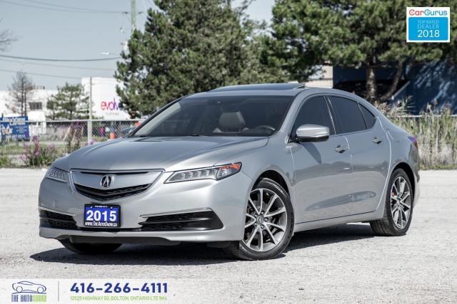 2015 Acura TLX V6*SH*AWD*TECH*NAVI* GPS Mint Certified We Finance