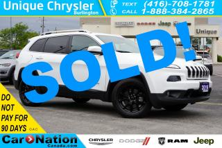 Used 2016 Jeep Cherokee NORTH| 4X4| COLD WEATHER GRP| TRAILER TOW GRP for sale in Burlington, ON