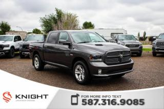 Used 2015 RAM 1500 Sport - Leather, Sunroof, Rear View Camera for sale in Medicine Hat, AB