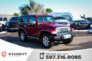 Used 2012 Jeep Wrangler Sahara - Remote Start, Heated Front Seats for sale in Medicine Hat, AB