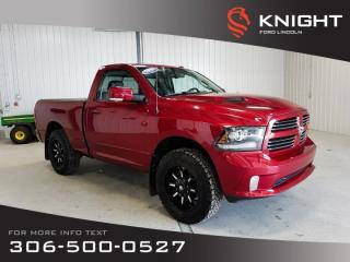 Used 2015 RAM 1500 SPORT for sale in Moose Jaw, SK