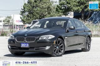 Used 2013 BMW 5 Series 528i xDrive AWD Certified Clean Carfax We Finance for sale in Bolton, ON