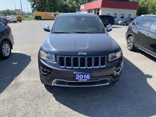 Used 2016 Jeep Grand Cherokee Limited for sale in Morrisburg, ON