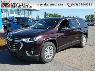 Used 2020 Chevrolet Traverse LT Cloth  - Android Auto for sale in Kanata, ON