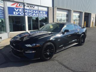 Used 2018 Ford Mustang GT MAG BRAMBO CONDUITE SPORT PRESQUE NEUF for sale in St-Hubert, QC