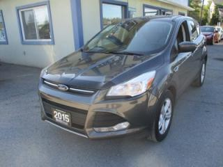 Used 2015 Ford Escape FUEL EFFICIENT SE MODEL 5 PASSENGER 2.5L - DOHC.. HEATED SEATS.. BACK-UP CAMERA.. AUX/USB INPUT.. BLUETOOTH SYSTEM.. for sale in Bradford, ON