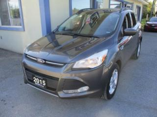 Used 2015 Ford Escape FOUR-WHEEL DRIVE SE MODEL 5 PASSENGER 2.0L - ECO-BOOST.. HEATED SEATS.. PANORAMIC SUNROOF.. BACK-UP CAMERA.. BLUETOOTH SYSTEM.. for sale in Bradford, ON