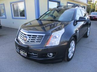 Used 2014 Cadillac SRX LOADED ALL-WHEEL DRIVE 5 PASSENGER 3.6L - V6.. NAVIGATION.. LEATHER.. HEATED SEATS.. PANORAMIC SUNROOF.. BACK-UP CAMERA.. BLUETOOTH SYSTEM.. for sale in Bradford, ON