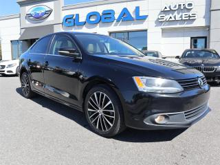 Used 2013 Volkswagen Jetta TDI HIGHLINE LEATHER SUNROOF. for sale in Ottawa, ON