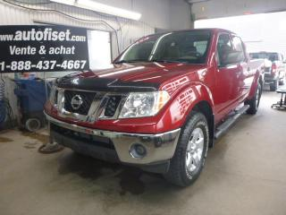 Used 2010 Nissan Frontier 2010 Nissan Frontier - 4WD Crew Cab LWB Auto SE for sale in St-Raymond, QC