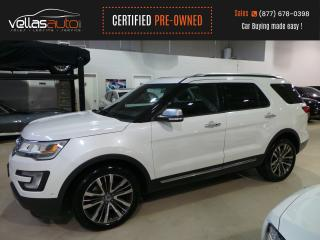 Used 2017 Ford Explorer Platinum PLATINUM| 4WD| NAVI| PANO RF| 6PASS for sale in Vaughan, ON