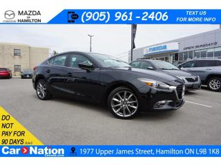 Used 2018 Mazda MAZDA3 GT | LEATHER | NAV | SUNROOF | REAR CAM for sale in Hamilton, ON