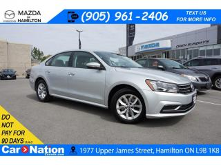 Used 2018 Volkswagen Passat 2.0 TSI Trendline+ 2.0 TSI TRENDLINE+ | REAR CAM | HEATED SEATS | for sale in Hamilton, ON