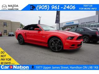 Used 2014 Ford Mustang GT CALIFORNIA SPECIAL | NAV | CONVERTIBLE for sale in Hamilton, ON