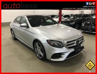 Used 2017 Mercedes-Benz E-Class E300 4MATIC DISTRONIC PREMIUM WIRELESS PHONE CHARGING for sale in Vaughan, ON
