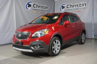 Used 2013 Buick Encore CXL PREMIUM CUIR NAVI SUNROOF MAG CHROMÉ for sale in Montréal, QC
