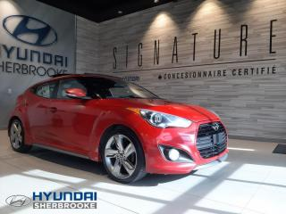 Used 2013 Hyundai Veloster TURBO+GPS+CAMERA+CUIR+TOIT PANO for sale in Sherbrooke, QC