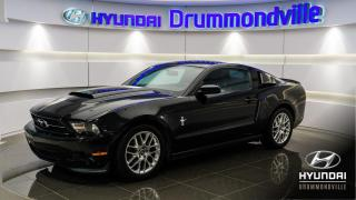 Used 2012 Ford Mustang PREMIUM + CUIR + BLUETTOTH + A/C + WOW ! for sale in Drummondville, QC
