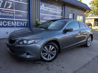 Used 2010 Honda Accord EX-L + CUIR + TOIT for sale in Boisbriand, QC