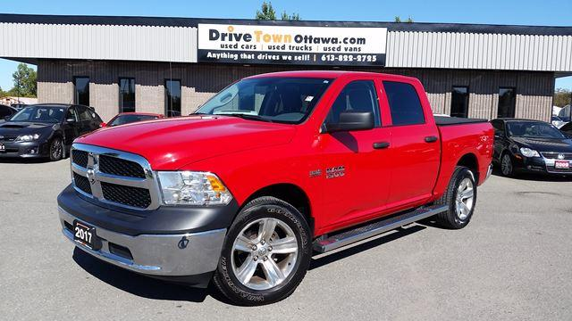 2017 RAM 1500 STX CREW CAB 4X4 **HEMI POWER**90 Days no Payments**