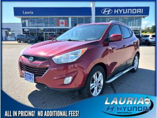 Used 2012 Hyundai Tucson GLS for sale in Port Hope, ON
