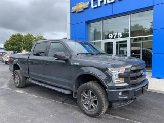 Used 2017 Ford F-150 4x4 - Supercrew Lariat - 145 WB for sale in Gatineau, QC