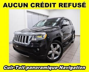 Used 2011 Jeep Grand Cherokee OVERLAND 4X4 TOIT PANORAMIQUE NAV *CUIR* for sale in Mirabel, QC
