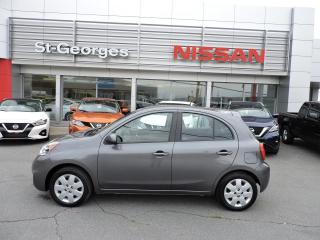 Used 2016 Nissan Micra SV (Auto, Démarreur, Cruise) for sale in St-Georges, QC
