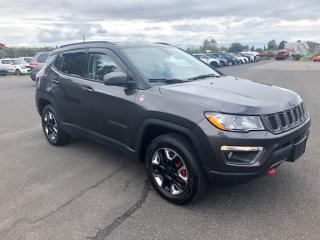 Used 2018 Jeep Compass Trailhawk 4x4 for sale in Lévis, QC