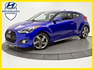 Used 2014 Hyundai Veloster TURBO, CAM DE RECUL, TOIT OUVRANT for sale in Brossard, QC