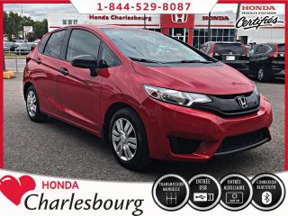 Used 2015 Honda Fit DX *MANUEL*CAMÉRA DE RECUL* for sale in Charlesbourg, QC