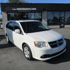 Used 2012 Dodge Grand Caravan CREW STOW N GO **CUIR+NAVI+DVD** for sale in St-Hubert, QC