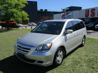 Used 2007 Honda Odyssey EX-L~LEATHER~8 PASS.~ALL POWER OPTIONS~CERTIFIED for sale in Toronto, ON